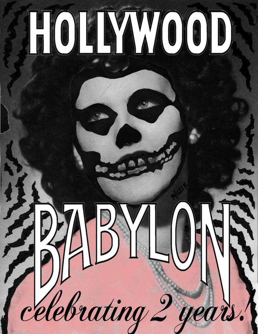 save the date: january 19th - hollywood babylon turns 2!