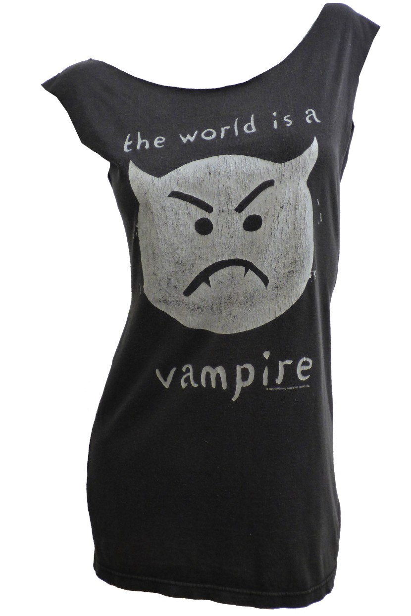 smashing-pumpkins-infinite-sadness-tour-world-vampire-rock-tee-restyled-tshirt-dress-front